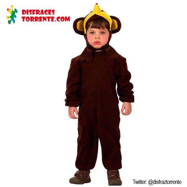 disfraz de mono gorila simio infantil carnaval disfraces