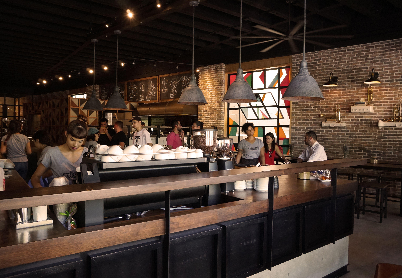 Gustos Coffee Co Miramar, Pr Designed By Mv Studio