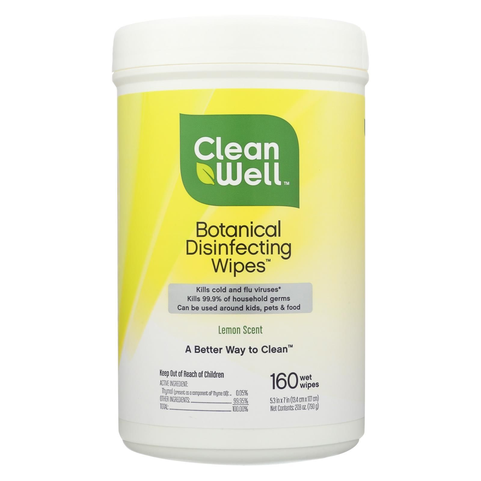 Cleanwell Disinfecting Wipes 180 Count In 2019 Disinfecting