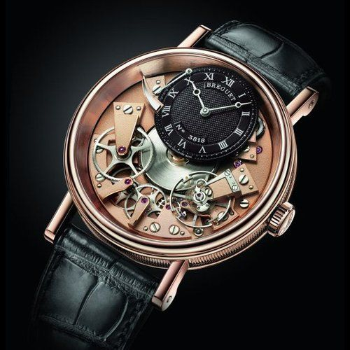 Breguet Tradition Bicolor Rose Gold***