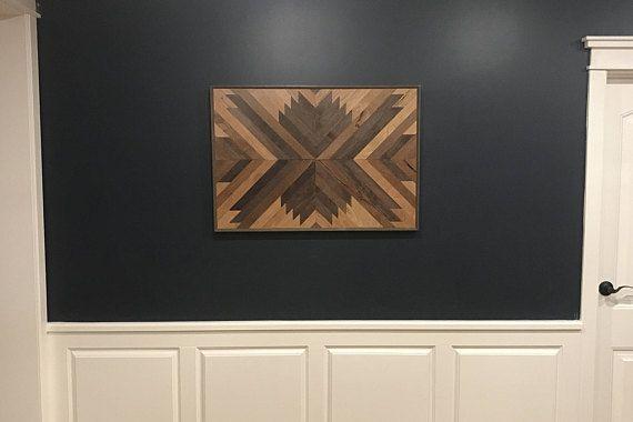 Wood Wall Art, Wall Art, Wood Art, Wall decor, Geometric Wood ...