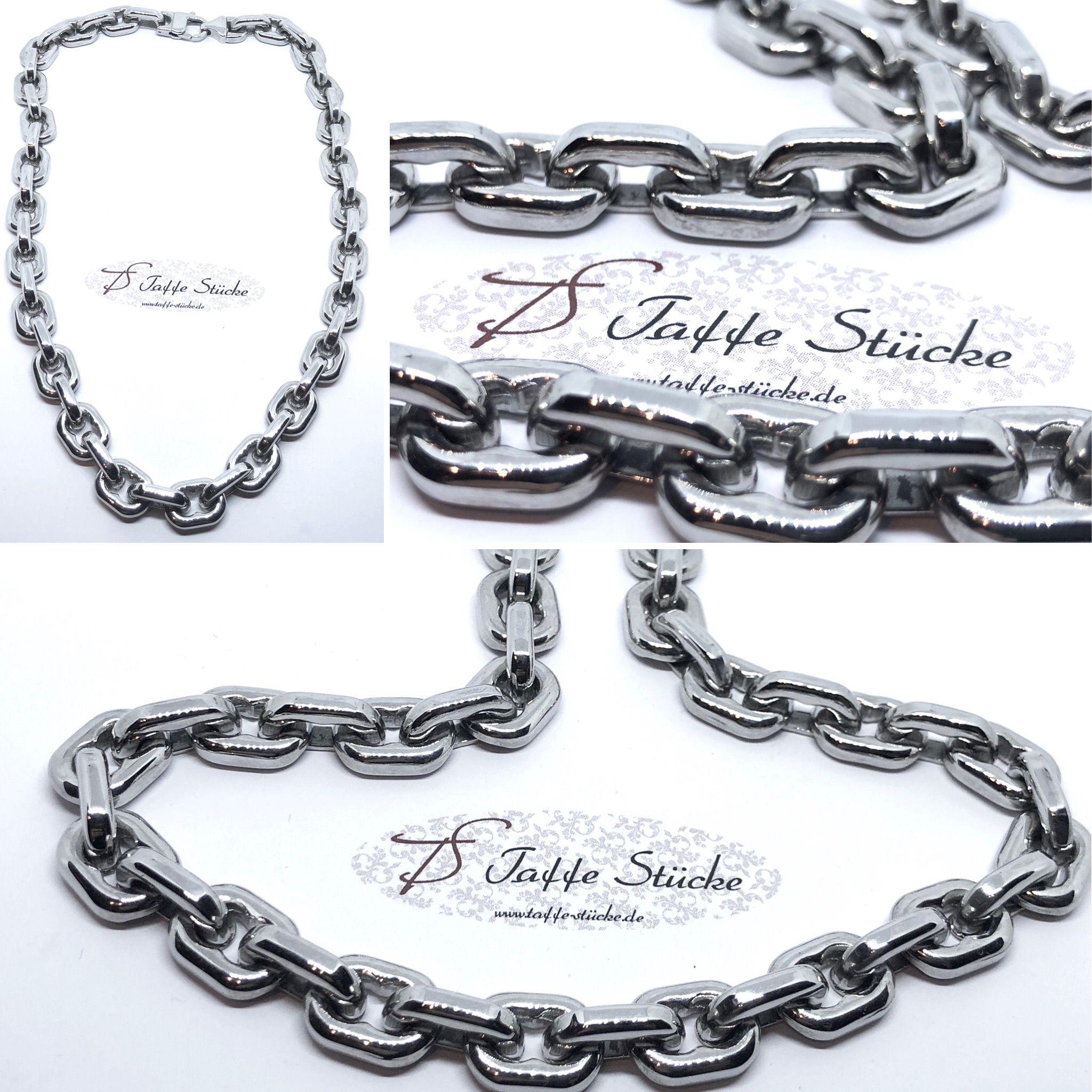 43a837b42961 Mächtig ist diese Halskette aus Edelstahl nur ein bissl! Sieht am Hals bei  Mann oder
