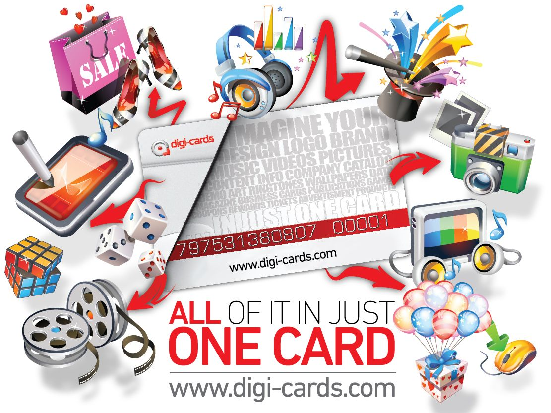 Digi-cards the most powerful and innovative download cards in the
