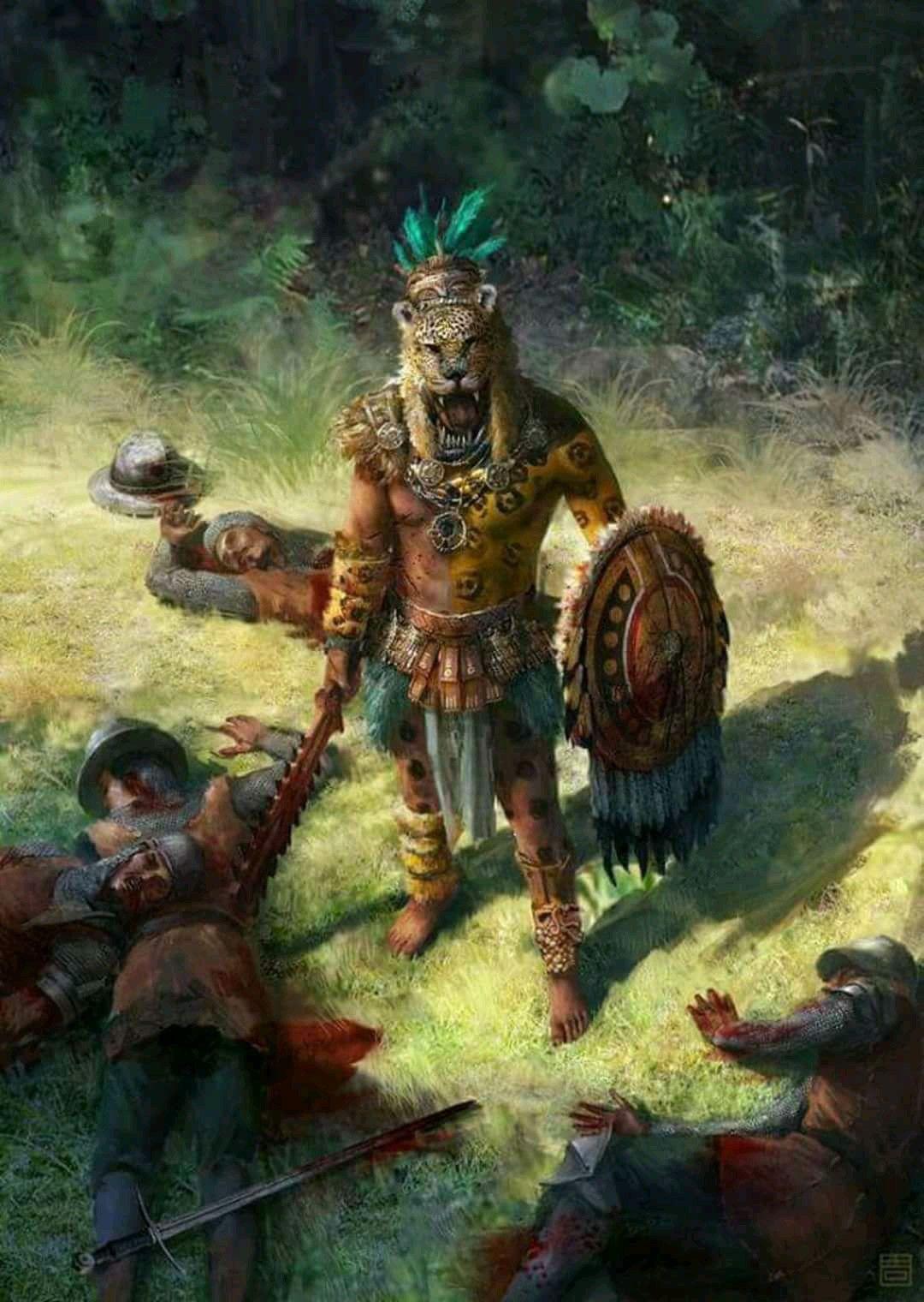 Guerrero Azteca Concepto Mitología Dioses Y Héroes Pinterest