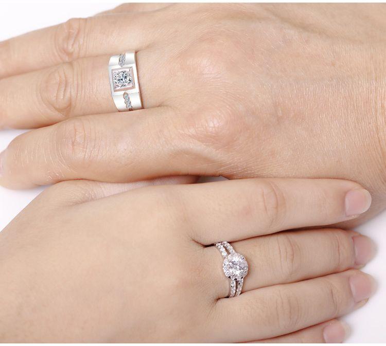 JRG COUPLE RING ចិញ្ចៀនគូស្នេហ៍ Younger Mart