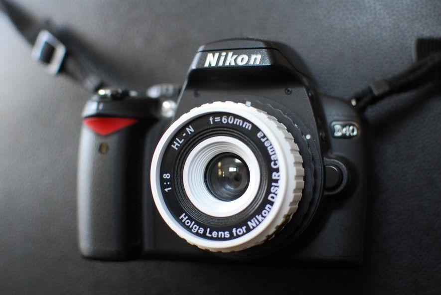 Holga Hl N Nikon Dslr Lens Dslr Lens Nikon Dslr Nikon
