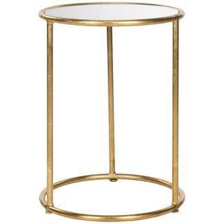 Found it at Wayfair.co.uk - Safavieh Mineola Side Table - Finish: Gold / Mirror