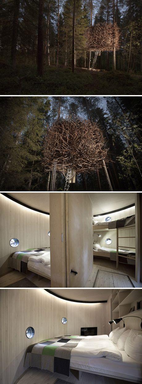 Treehotel: The Bird's Nest - www.treehotel.se
