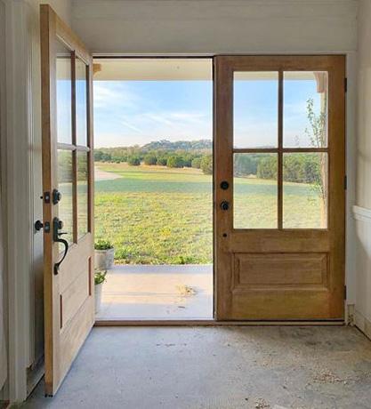 Double Front Doors Solid Wood Exterior Doors From Simpson In 2020 Solid Wood Doors Exterior Double Front Doors Exterior Doors