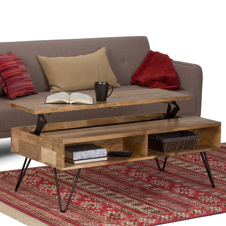 Simpli Home Hunter Coffee Table Kohls In 2020 Coffee Table Mango Wood Coffee Table Coffee Table Wood [ 1500 x 1500 Pixel ]