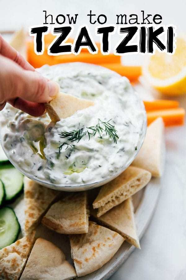 This healthy and refreshing tzatziki recipe is a simple and classic Greek sauce A healthy sauce recipe for on gyros as a salad dressing or for dipping crackers or fresh v...