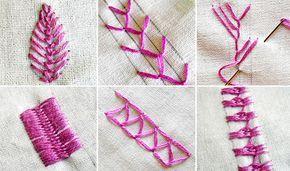 Segredos de costura: 10 pontos para construir suas habilidades bordados à mão