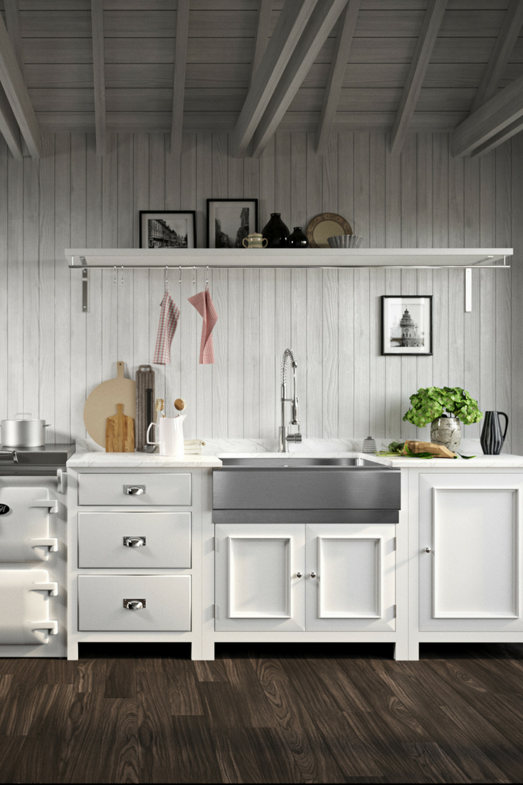 405 Single Bowl Stainless Steel Apron Sink Modern Farmhouse Kitchens Kitchen Design Interior Design Kitchen