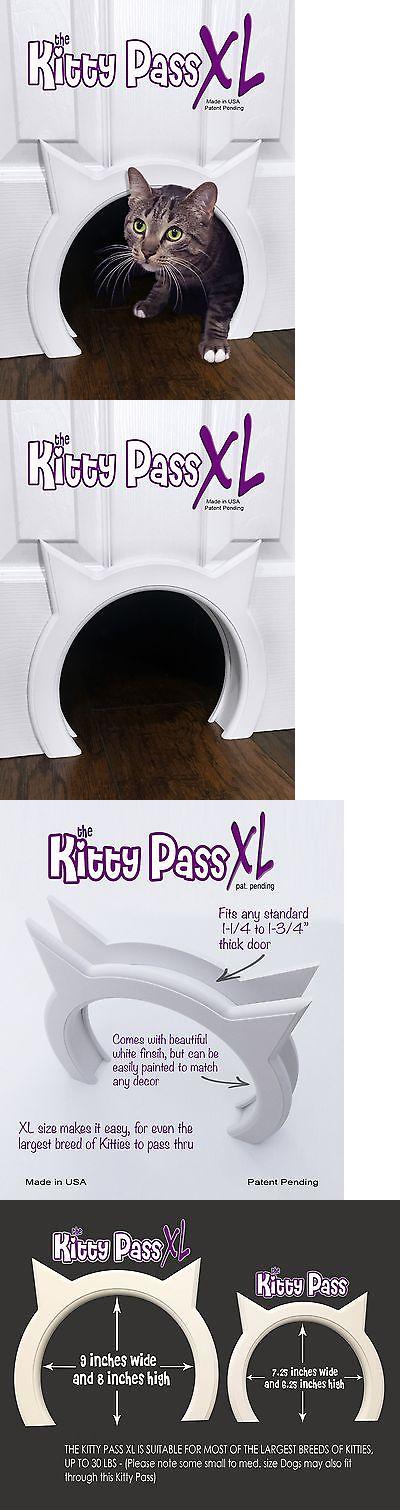 Doors And Flaps 117421: The Kitty Pass Xl Large Cat Door, Interior Large Pet