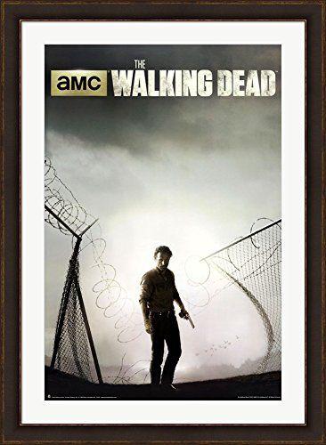 The Walking Dead Season 4 Key Art Framed Art Print Wall Picture