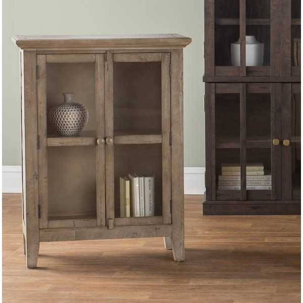 Crafted Of Solid Wood And Featuring Classic Glass-paneled