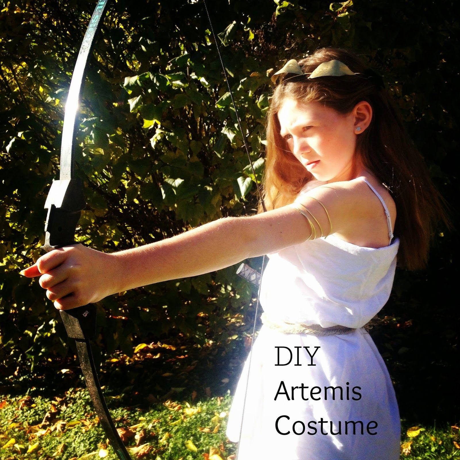 DIY Artemis Costume (A Halloween Pinterest Poser Challenge ...