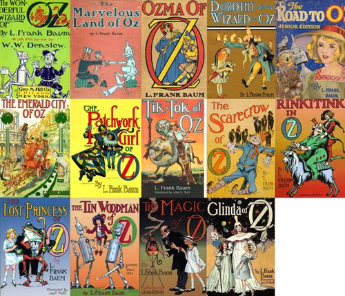 The oz books by l frank baum these books have been my all time but i want to read all of these the only problem is finding them at a bookstore somewhere and bringing these lovelies home i love the oz books soo much fandeluxe Gallery
