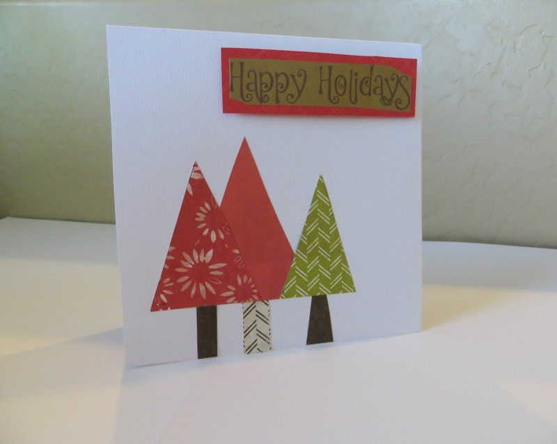 Homemade Christmas card | My homemade cards | Pinterest | Homemade ...