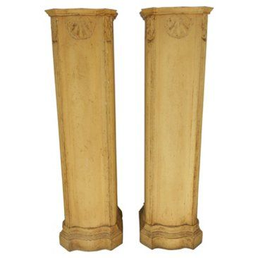 Check out this item at One Kings Lane! Italian-Style Pedestals, Pair