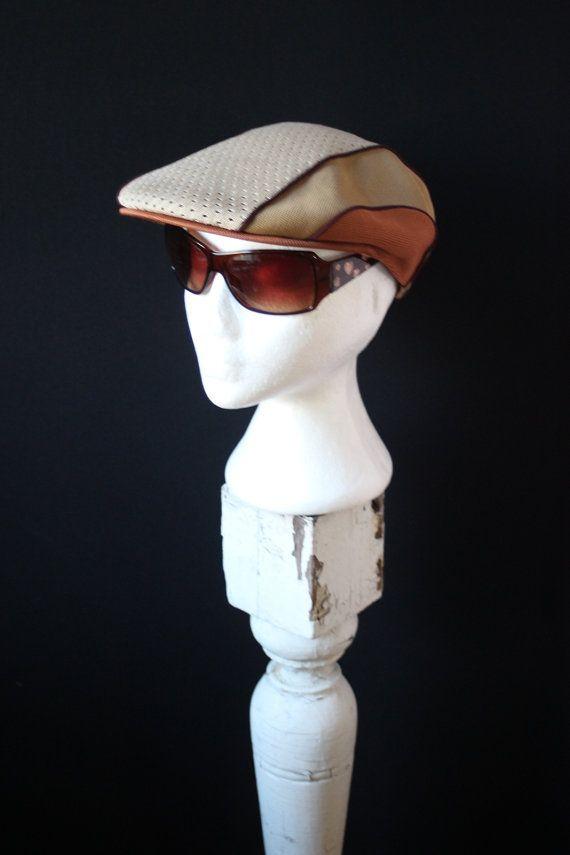 70s Vintage Hat Kangol Applejack Style Newsboy Cabbie Driving Hat ... ff0e6bad877