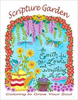 Scripture Garden Christian Coloring Prayers of Faith, Love and Hope. Meditate and Color.: Deborah Muller/Chubby Mermaid, Deborah Muller: 0635292811913: Amazon.com: Books