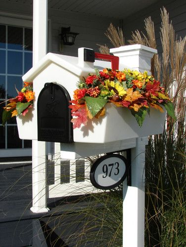 Creative Mailbox Planters traditional mailboxes | Outdoorsy ...