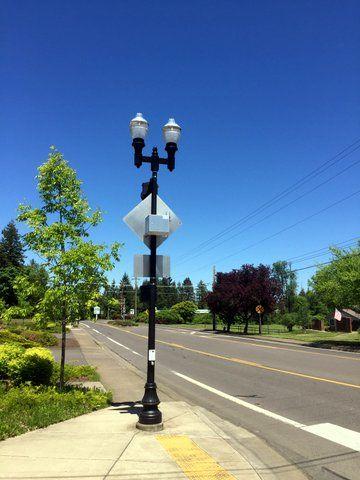 decorative street lighting