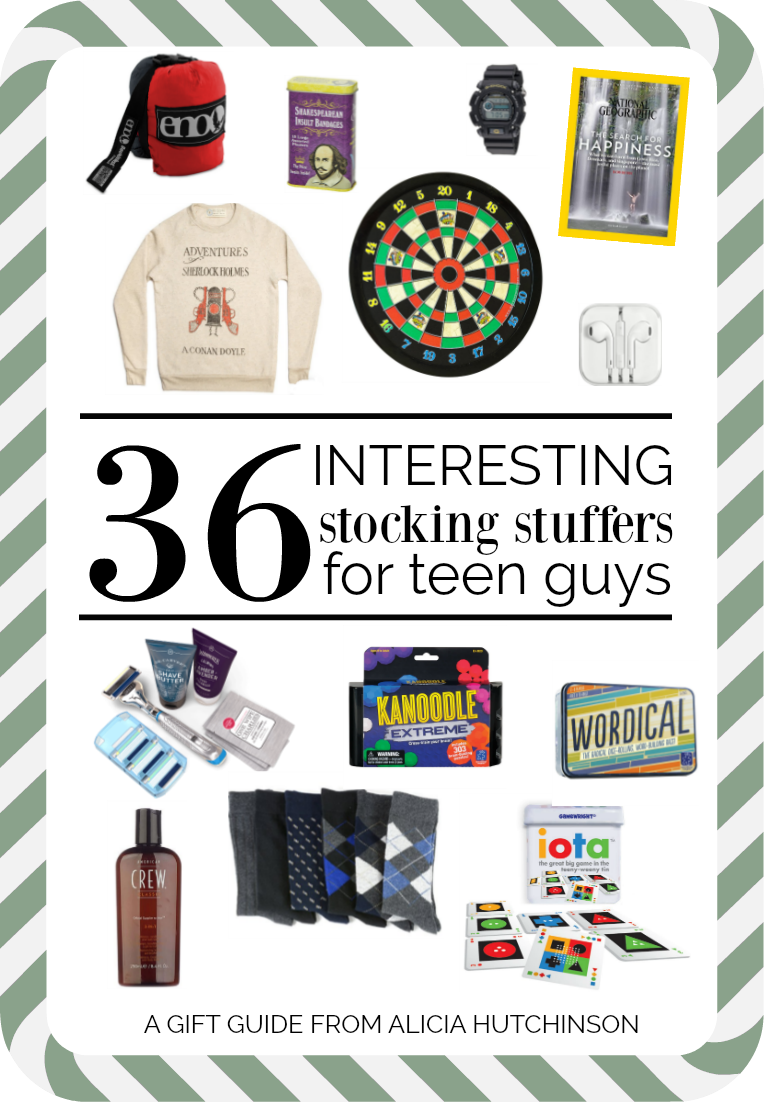 The Best 36 Gifts Your Teen Guy Will Love - Living Well + Learning Well