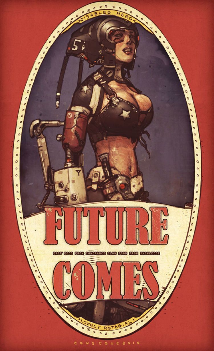 "Extremely Cool Retro ""Future Comes"" Geek Art Series — GeekTyrant"