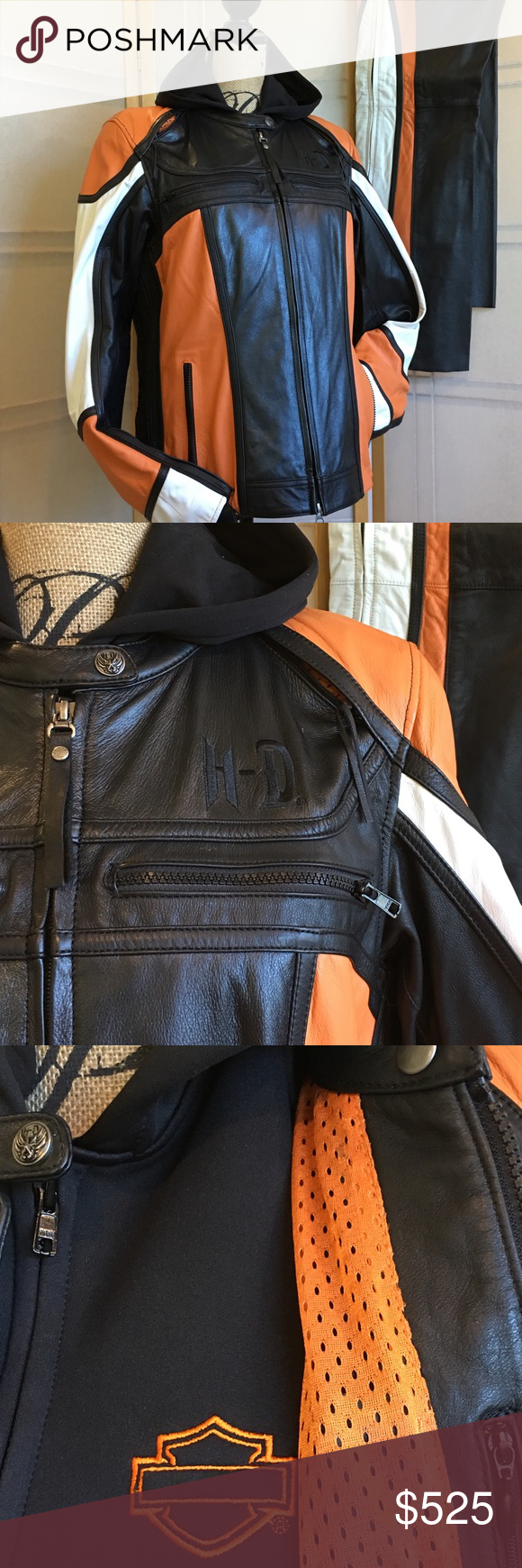 Classic HarleyDavidson® Leather 3in1 JacketXL Harley