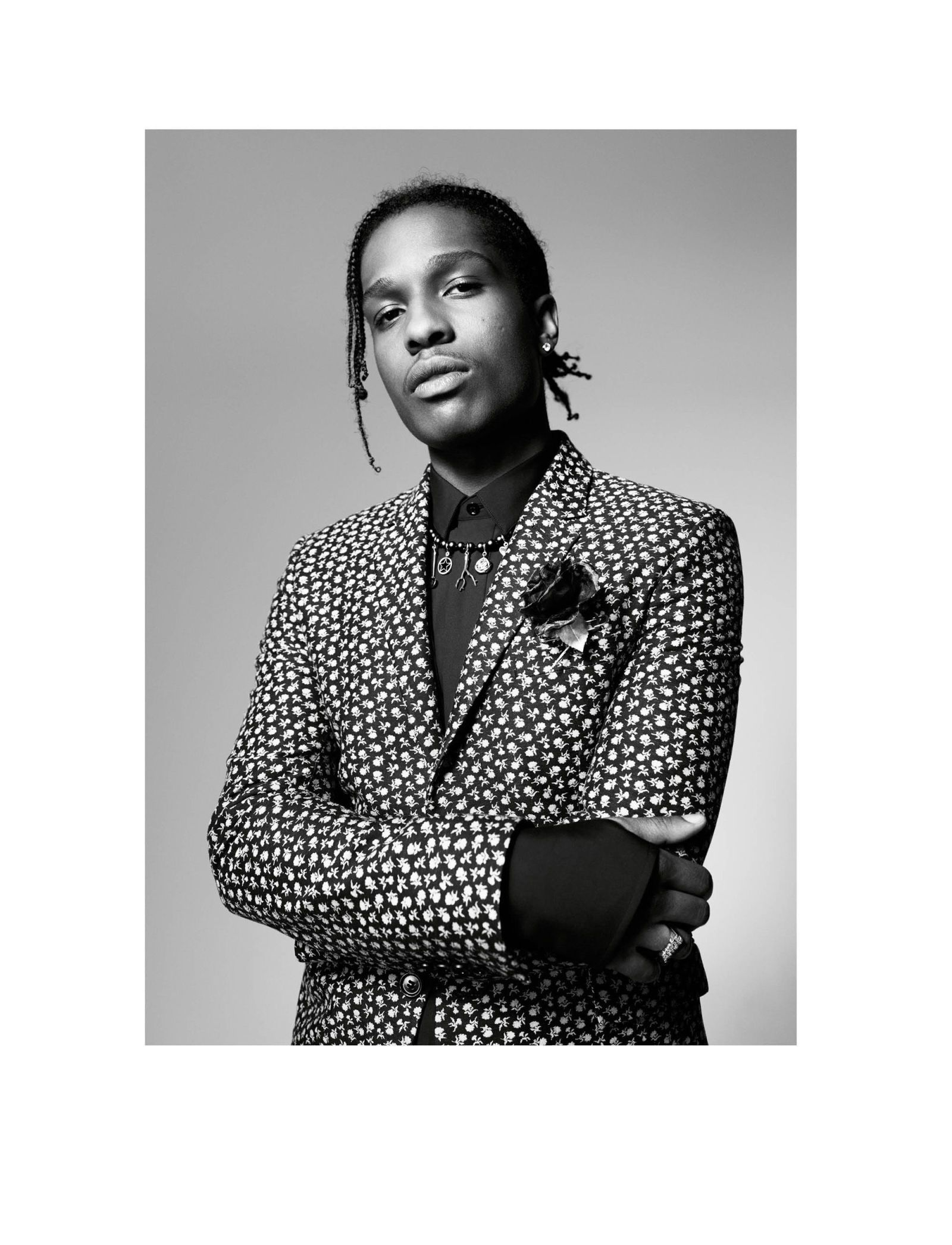 7289c4ce79b A AP Rocky Is the New Face of Dior Homme
