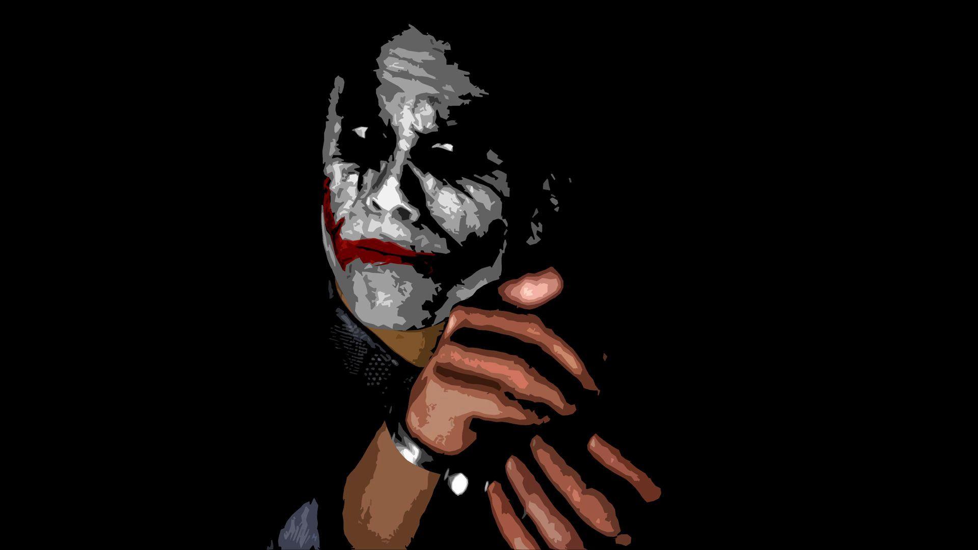 Unique 4k Wallpaper Joker Heath Ledger Hd Wallpaper Joker Hd Wallpaper Joker Wallpapers Joker Images 3d cool joker wallpaper photos