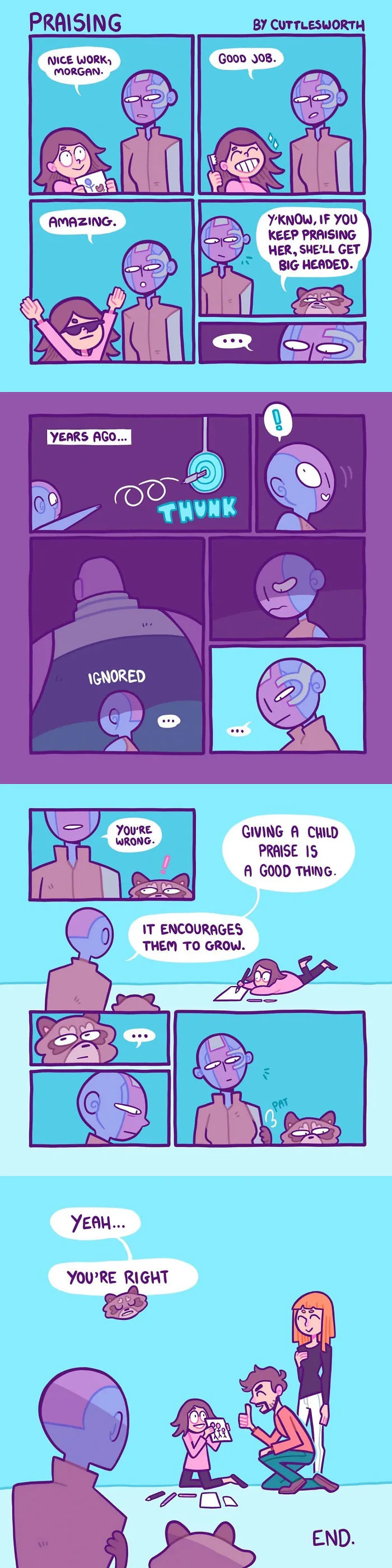 Nebula Deals With Everyday Life In Cute Comic Series Marvel Superheroes Cute Comics Marvel
