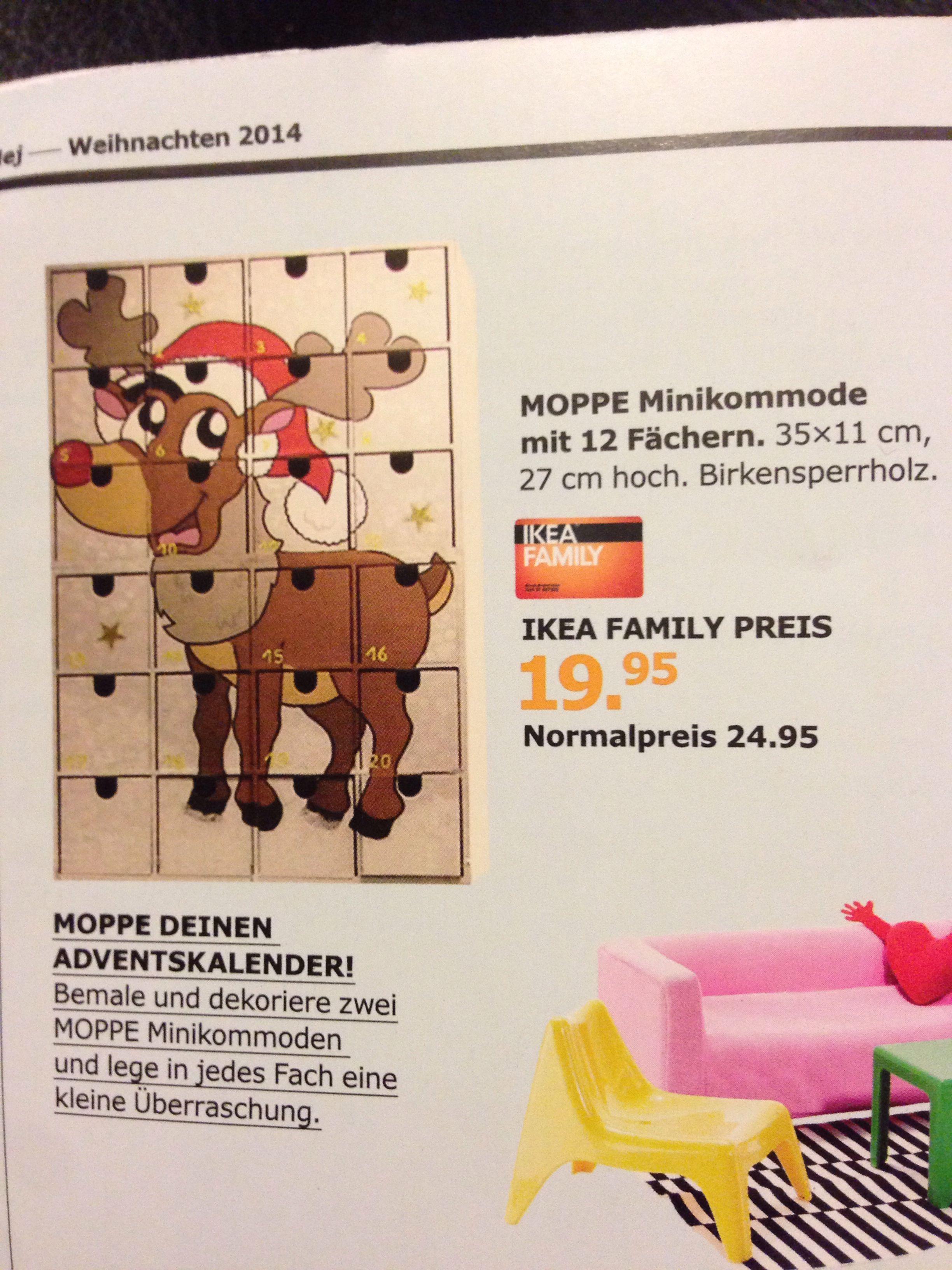Weihnachtskalender Violetta.Moppe Adventskalender Ikea Christmas Adventskalender