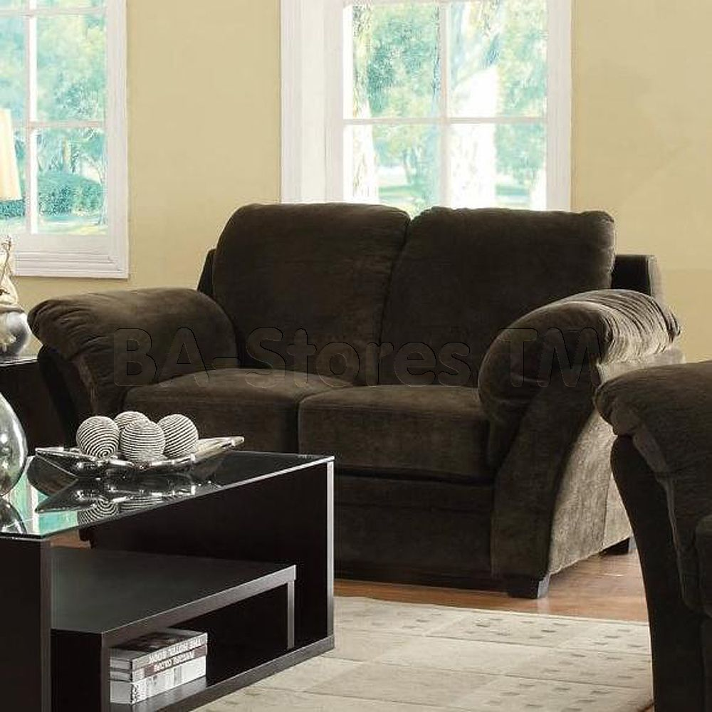 Silas Casual Love Seat with Pillow Arms