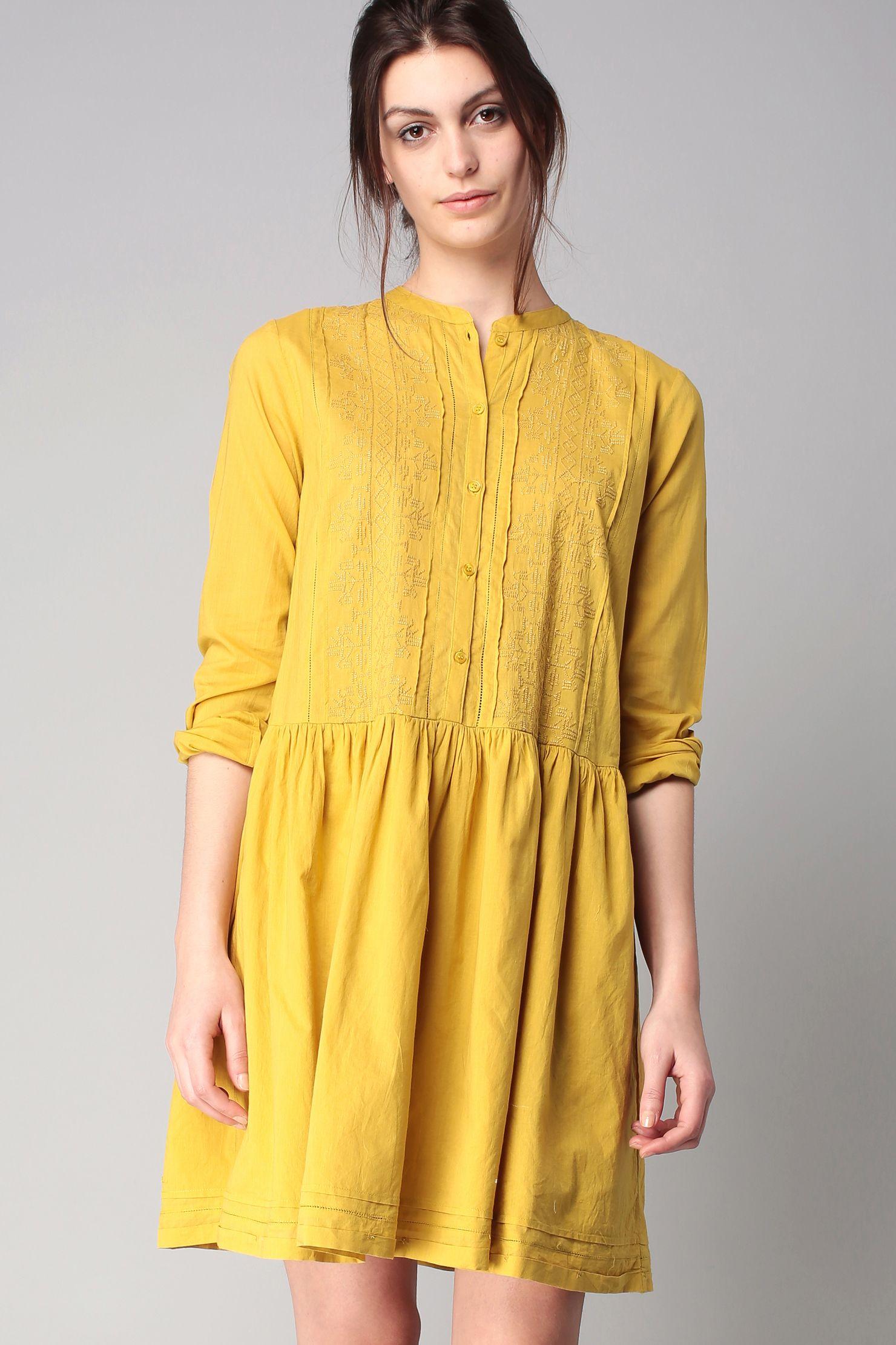 Robe jaune 52