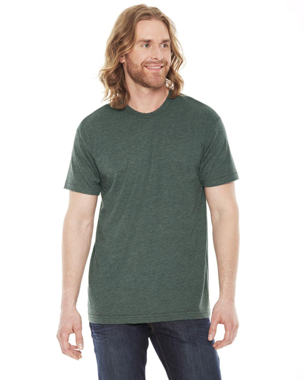 American Apparel Unisex Heather Vint Cotton/ Short Sleeve T-shirt