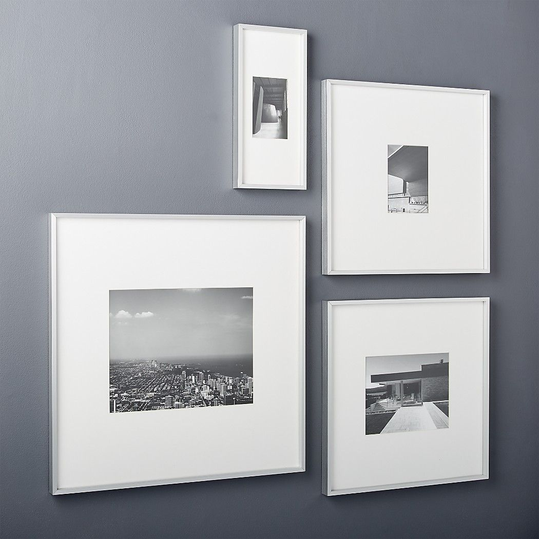 Silver 8x10 Picture Frame Reviews Cb2 In 2020 Picture Frame Gallery 11x14 Picture Frame Picture Frames