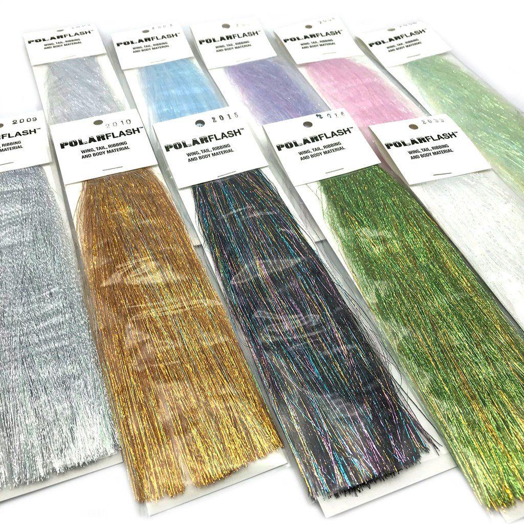 Fly Tying Saltwater Fishing H2O Fiber Flash 60 Colors! STEVE FARRAR SF BLEND