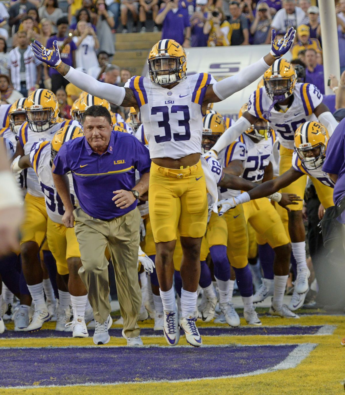 How Wild Thanksgiving Night Transformed Lsu Coaching Search Led To Ed Orgeron S Promotion Lsu Lsu Tigers Football Louisiana Football