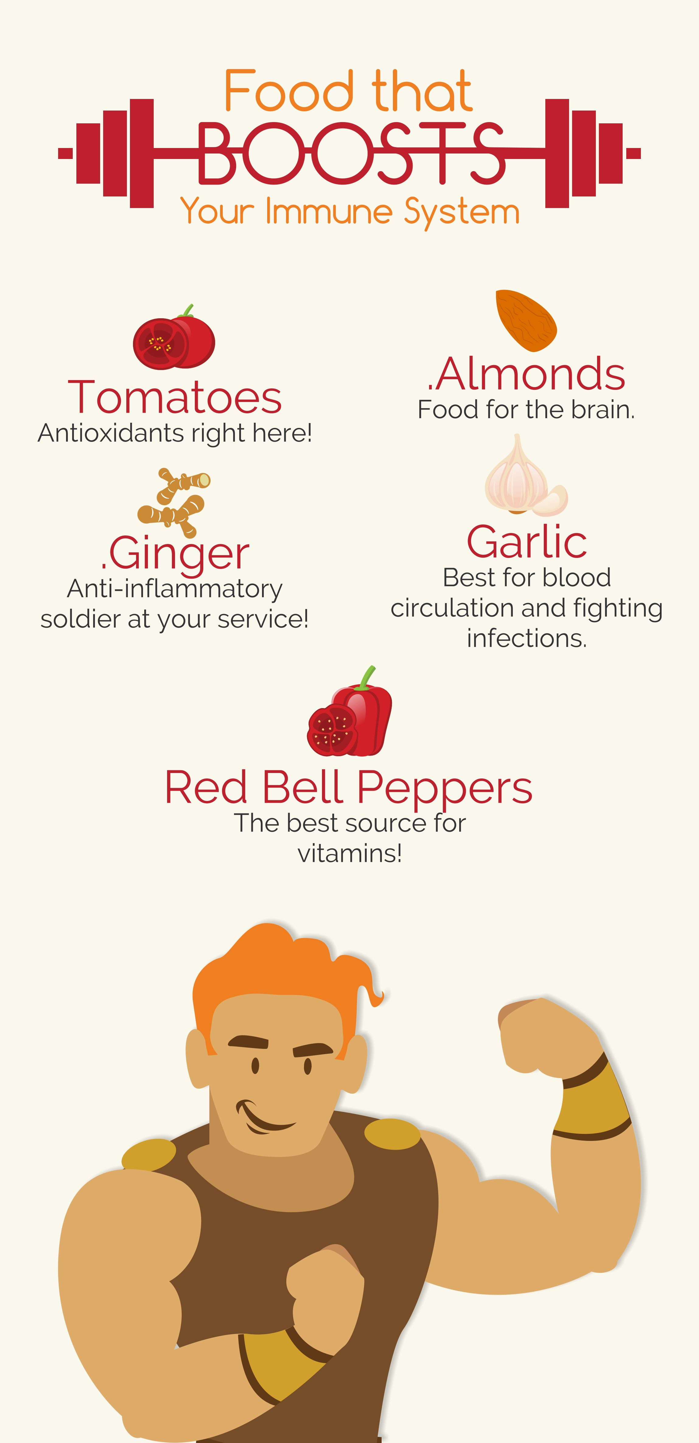 Food that boosts your immune system 1tomatoes