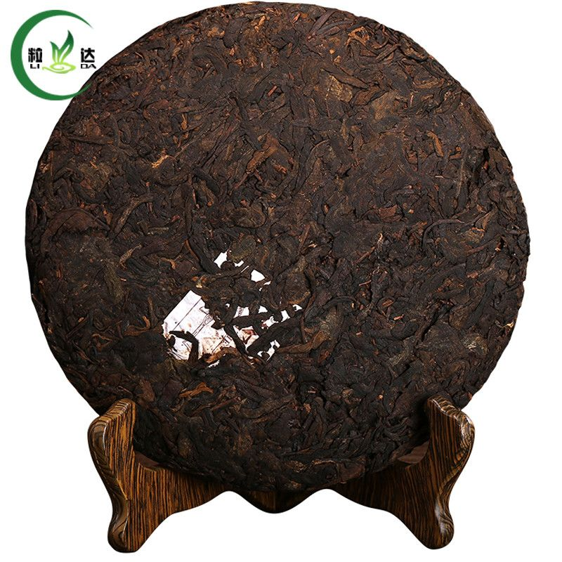 357g of Ripe Puer Tea Cake,year 2012 tea puerhtea
