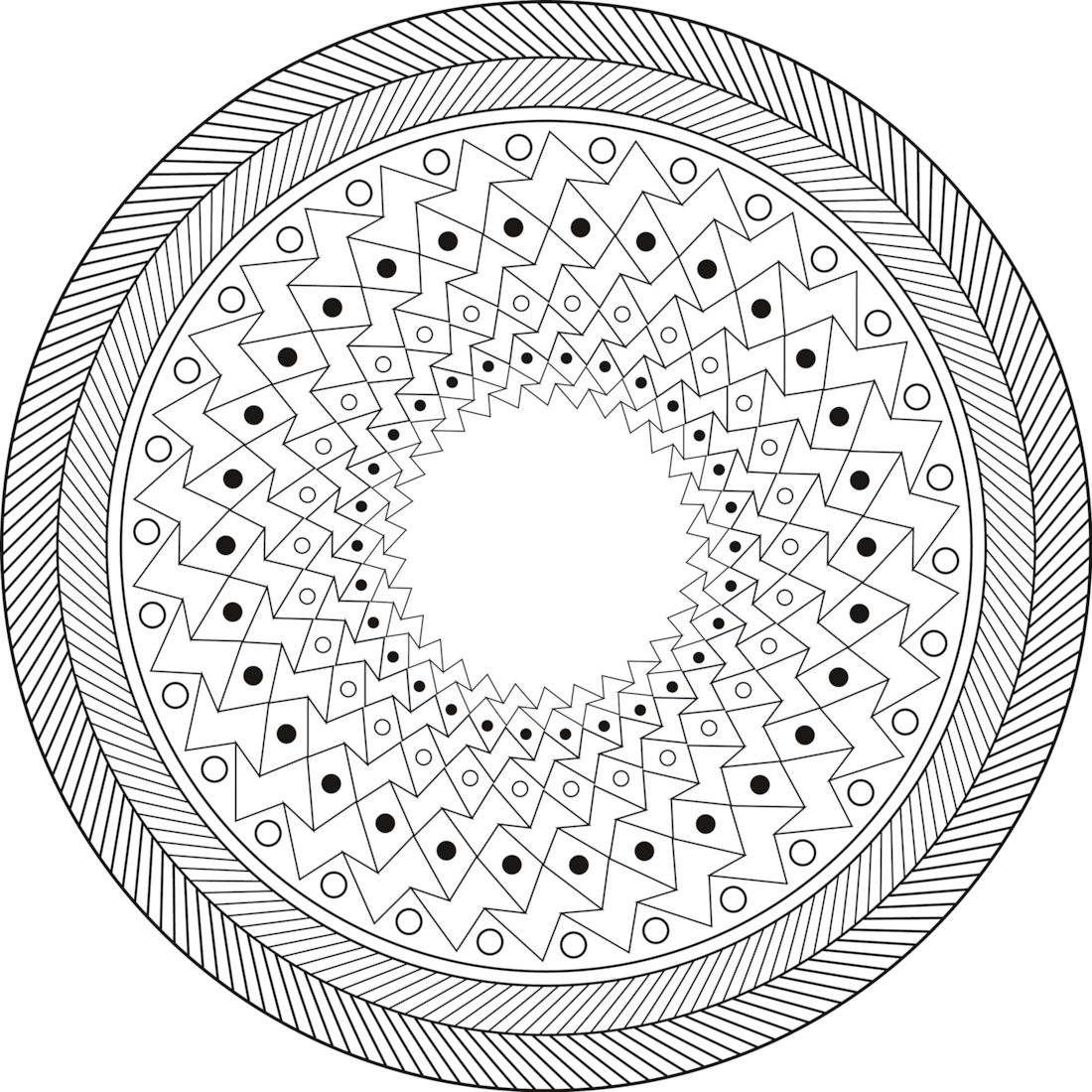 print and color this 2016 mandala calendar available in jpg and