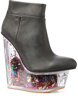 Jeffrey Campbell The Icy Star Platform in Black on shopstyle.com