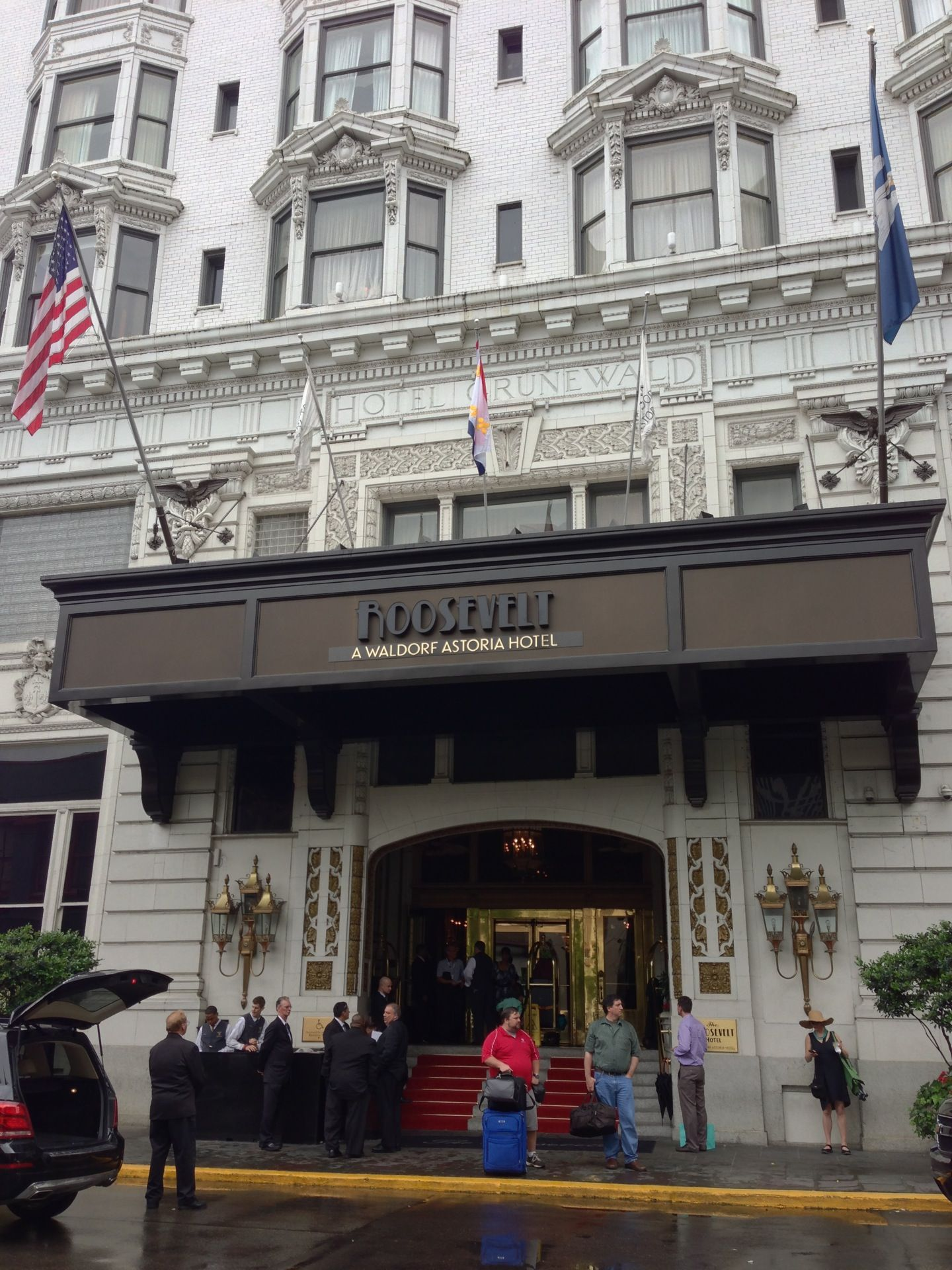 The Roosevelt New Orleans, A Waldorf Astoria Hotel In New