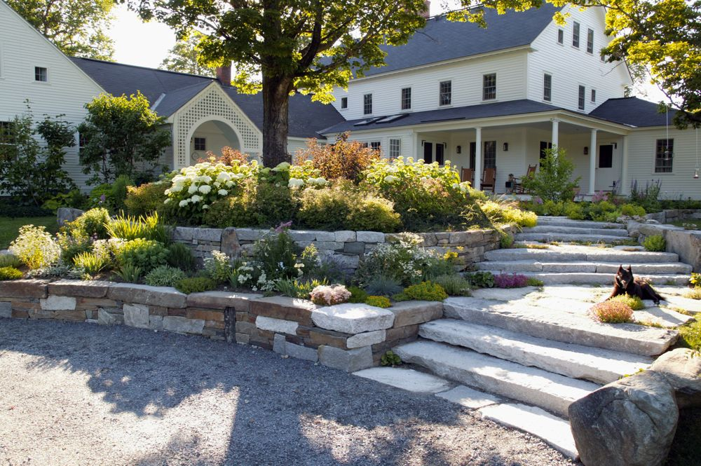 Garden Ideas New England jmmds new england farmhouse, photorandy o'rourke 1   stone