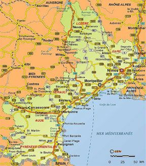 South Of France And Italy Map.Southern France Creative Visualization Board For 2013 France Map