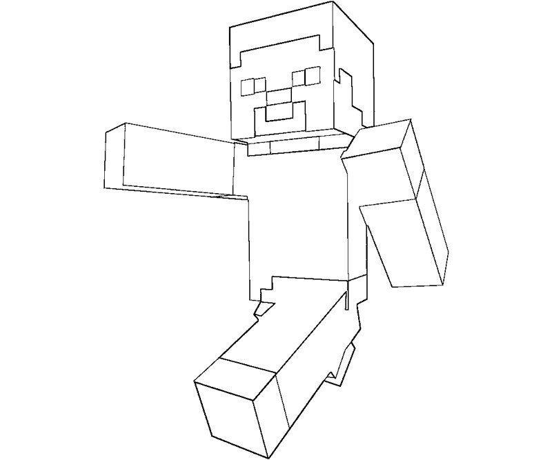 Minecraft Coloring Pages For Kids With Steve Lida Malvorlagen Kostenlose Ausmalbilder Malvorlagen Zum Ausdrucken