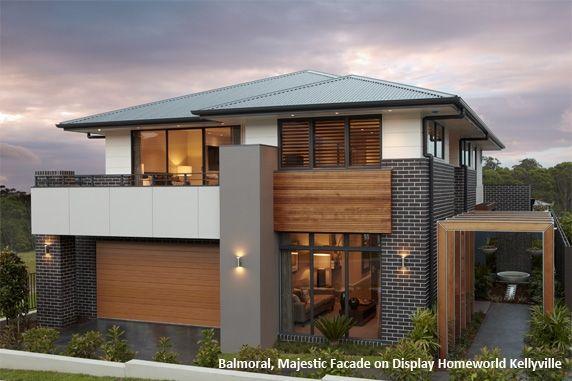 double storey house facades - Google Search   House exterior ...